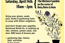 Annual Plant Swap / images from our favorite Spring Event, plus gardening tips for your green thumb.