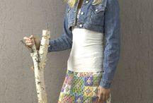 Háčkované sukně, kalhoty a kraťasy