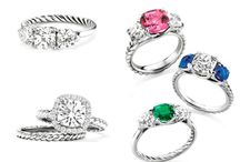 Engagement Rings / by MODwedding