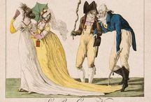 1790 Muscadins, Incroyables & Merveilleuses