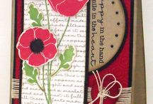 Cards--Poppies & Tulips