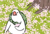 Японские рисовки