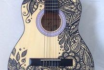 Guitarras pintadas