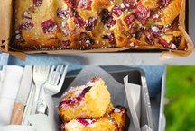 Tasty Tray Bakes / Easy tray bakes