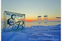 """Sea Side Wedding / Sea Side Wedding. Wedding by the sea. The most romantic place to say """" I DO""""."""