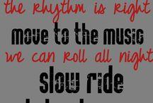 Lyrics we love!