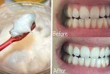 gesunde Zähne mit kokosöl