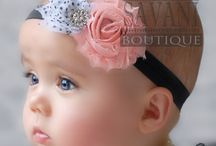 Baby Girl Fashion Headbands & Bows
