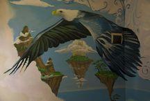wall art / dipinti murali