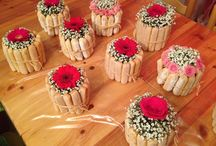 Idées fleurs mariage gourmand