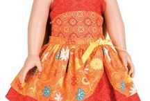 Dolls clothes to make / by Patti Blogs