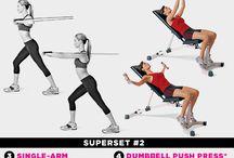 Chest workouts / by Nancy Melendez