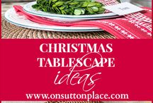 Tablescapes Ideas
