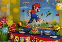Super mario bros birthday party idea