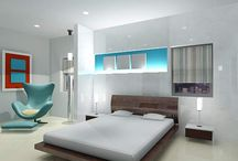 Bedroom Interiors / This board consists of images of Bedroom Interior designs.