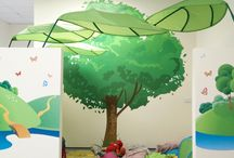 Play Areas / Featured images of playrooms we've enhanced with wall graphics