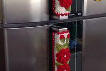 Puxador de porta de geladeira