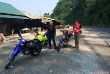 Motorcycling from North to South Vietnam - Thomas team - Apr 2016 / A riding journey along the length of Vietnam. Deep in the countryside, this ride took our adventurers to tribal villages, historical sites, and charming ancient towns.
