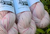 Under An English Sky Yarns / Beautiful hand dyed yarns dyed in the Devonshire countryside. Each skein is inspired by the English countryside or English literary and arts heritage. Yarns can be purchased through Etsy: www.underanenglishsky.etsy.com