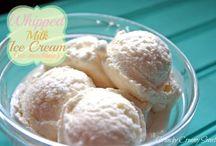 Ice cream, sorbet, frozen treats / All things frozen ice cream like.