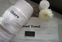 Luxury Personalised Towel Sets