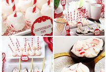 HOT CHOCOLATE BAR PARTY / Welcome winter with inspiration for a decadent hot chocolate bar party