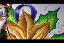pintura en tela