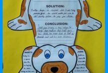 """Shiloh Unit Ideas / These are activities for my students who are reading the book """"Shiloh."""""""