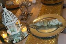 Idul Fitri Table Decorations