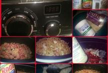 Ninja Cooking Recipes / by Carra Palmer