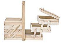 costureros de madera