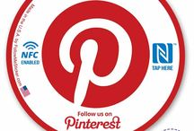 Pinterest Marketing and Pinterest Stickers / Stickers and marketing ideas from FollowMeSticker.com for growing a more local following on Pinterest!