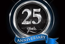 Anniversary logo silver colored / https://www.shutterstock.com/g/Vectorideas/sets/14806569