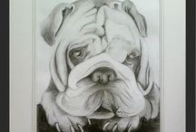 RYSUNEK ArtRatka / Rysowane ołówkiem oraz węglem. Portrety osób i zwierząt wykonane na podstawie zdjęcia.