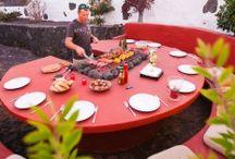 round grill