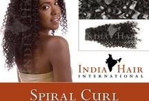Indian Spiral Curl / RSD Steam Permed Spiral Curl 100% Human Hair