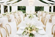 Color Me | All White Elegance / Color Scheme: White Wedding Inspiration