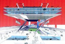 Architecture collage presentation