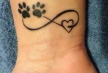 Paws tattoos