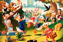 Disney's Duck Tales and Duckburg / The wonderful world of Duck Tales, Duckburg and its characters
