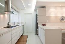 Cozinha, ambiente e decoração