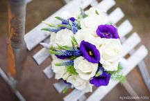 Blue/purple  wedding  / Wedding inspiration with a tone of blue