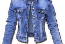 Kurtka Damska Katana Jeans Pagony #142 FASIONAVENUE.PL