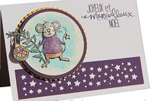stampin up noël 2016 souris