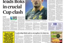 Front Pages - October 2015