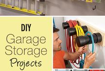 Garage Storage / by Whitney Rasor Doyle