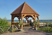 Outdoor Ceremonies / The Gazebo, a unique design, perfect for outdoor wedding ceremonies.