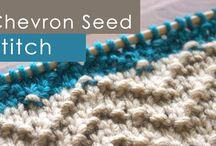 Chevron knitting