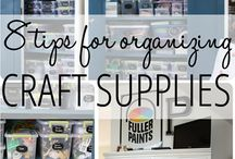 Get Organized / Cool ideas for getting your life organized.