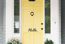 Front Door Ideas. / by Stephanie Barras